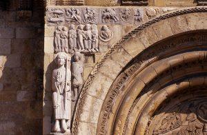 San Isidoro León La Puerta del Corderón Facade Frieze
