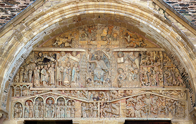 The Romanesque Tympanum of Conques