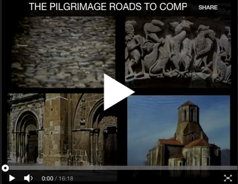 The Pilgrimage Roads to Santiago de Compostela: Split Screen Film