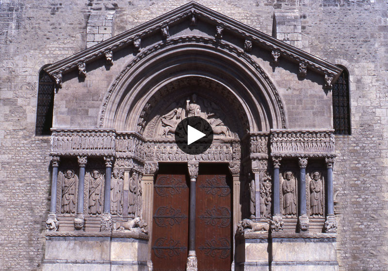 Arles Cathédrale Saint Trophime West Porch
