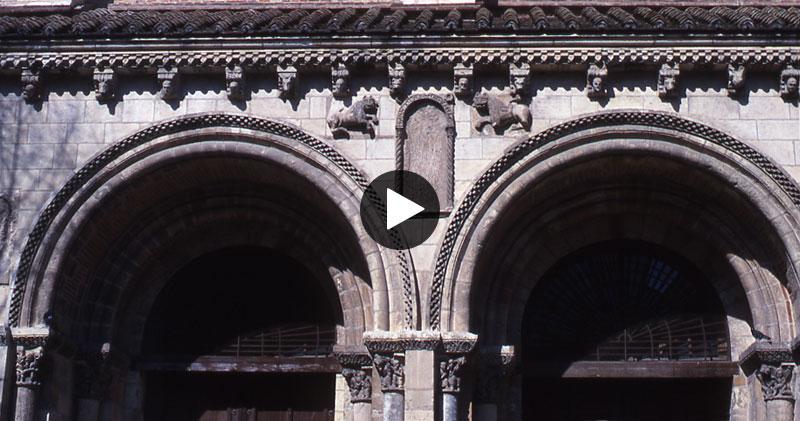Saint Sernin de Toulouse: La Porte des Comtes