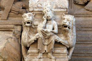 Daniel in the Lion's Den, Saint Trophime Arles
