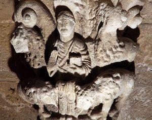 Daniel in the Lion's Den, Notre-Dame-de-la Fin-des-Terres, Soulac