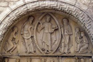 La Charité-sur-Loire, The Transfiguration Tympanum,