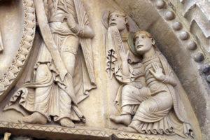 La Charité-sur-Loire, The Transfiguration Tympanum, Apostles James and John