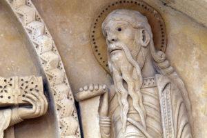La Charité-sur-Loire, The Transfiguration Tympanum, Elijah