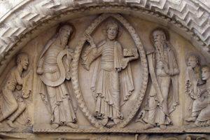 La Charité-sur-Loire, The Transfiguration Tympanum