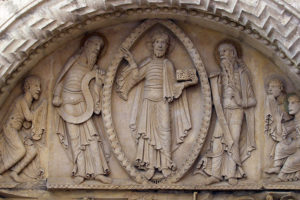 Notre-Dame de la Charité-sur-Loire, The Transfiguration Tympanum