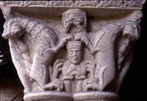 Daniel in the Lion's Den, Cloister St Pierre de Moissac