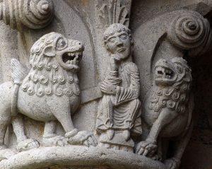 Daniel in the Lion's Den, La Sauve Majeur