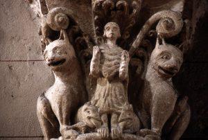 Daniel in the Lion's Den, Saint Sever