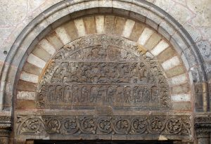 Porch Relief Tympanum Saint Ursin de Bourges