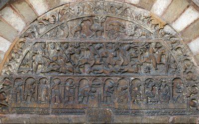 Saint Ursin de Bourges: The Romanesque Porch Relief