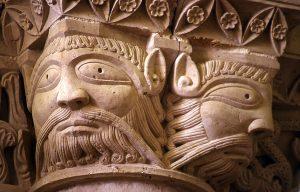 Aulnay de Saintonge Saint-Pierre, Masks