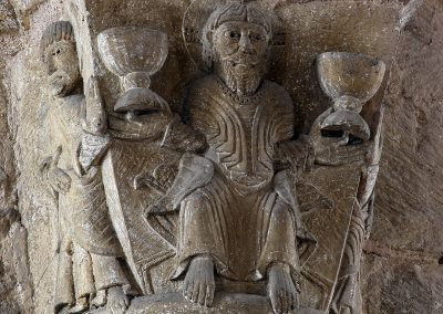 Conques Sainte Foy, Jesus and Chalices