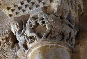 Conques Sainte Foy, Affronted Knights