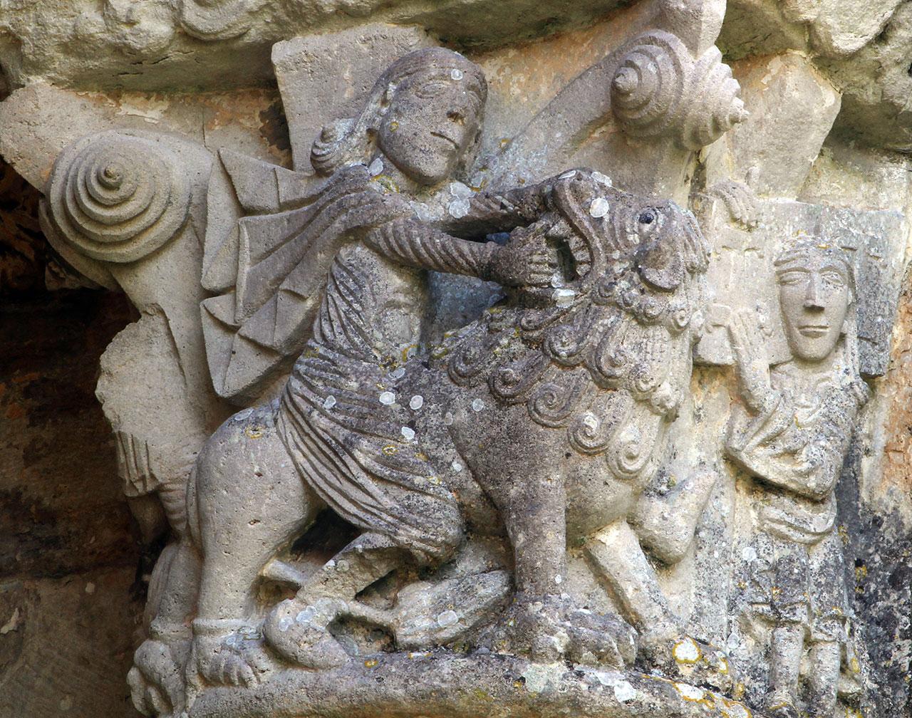 La Sauve-Majeure, Samson