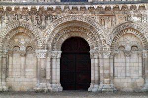 Poitiers Notre-Dame-la-Grande West Facade Ground Level