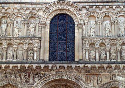 Poitiers Notre-Dame-la-Grande Frieze and Upper Register Apostles