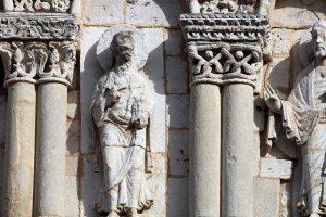 Poitiers Notre-Dame-la-Grande Upper Level Arcades Apostles
