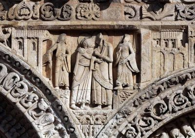 Poitiers Notre-Dame-la-Grande The Visitation