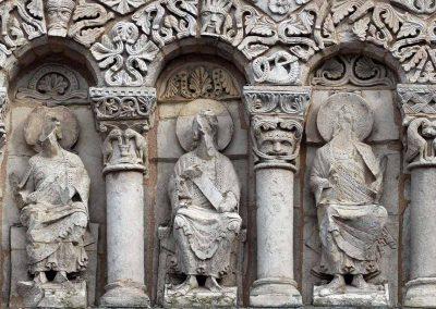 Poitiers Notre-Dame-la-Grande Upper Level Apostles