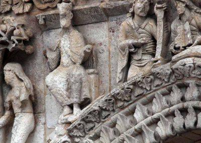 Poitiers Notre-Dame-la-Grande Nebachudnezzar Eve The Prophets
