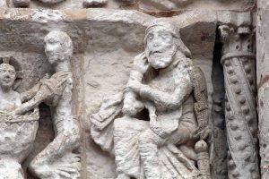Poitiers Notre-Dame-la-Grande The Nativity Joseph