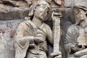 Poitiers Notre-Dame-la-Grande Daniel Jeremiah