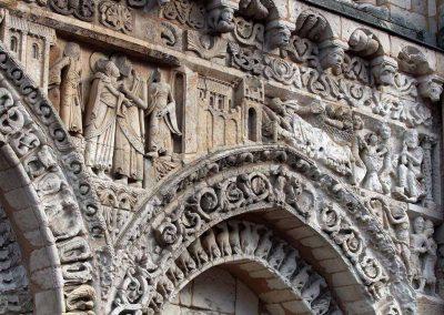 Poitiers Notre-Dame-la-Grande The Nativity Frieze