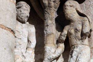 Poitiers Notre-Dame-la-Grande Adam and Eve