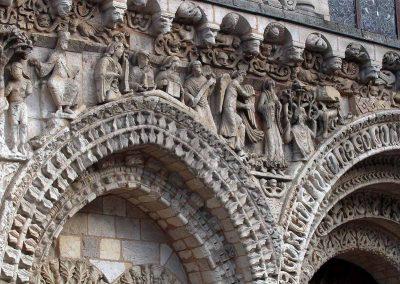 Poitiers Notre-Dame-la-Grande Old Testament Frieze