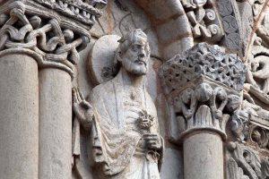 Poitiers Notre-Dame-la-Grande Upper Level Arcades Saint Peter