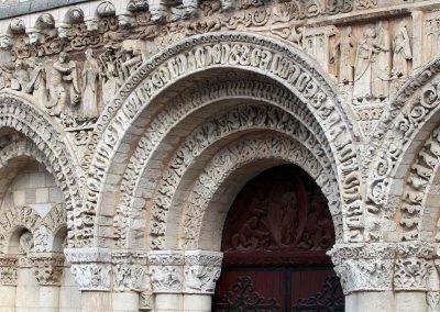 Poitiers Notre-Dame-la-Grande Ground Level