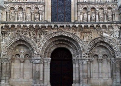 Poitiers Notre-Dame-la-Grande West Facade