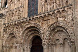 Poitiers Notre-Dame-la-Grande, Facade