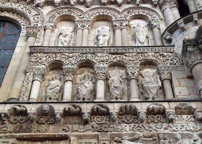 Poitiers Notre-Dame-la-Grande Upper Level Arcades