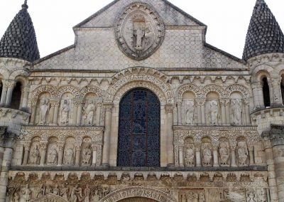 Poitiers Notre-Dame-la-Grande West Facade Upper Levels