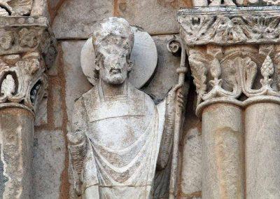 Poitiers Notre-Dame-la-Grande Upper Level Arcade Cleric