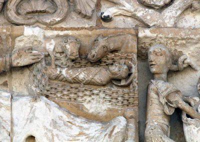 Poitiers Notre-Dame-la-Grande The Nativity