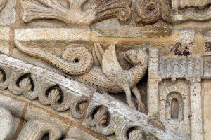 Poitiers Notre-Dame-la-Grande Ground Level Detail