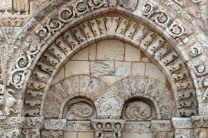 Poitiers Notre-Dame-la-Grande Ground Level Blind Arcade