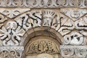 Poitiers Notre-Dame-la-Grande Upper Level Arcade Voussoirs