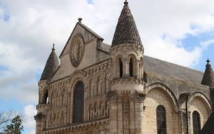 The Romanesque Facade of Poitiers Notre-Dame-la-Grande