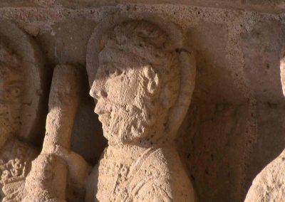 Aulnay Saint-Pierre, South Porch, Prophet