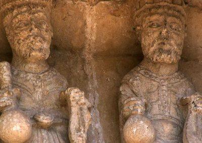 Aulnay Saint-Pierre, South Porch, Elders of the Apocalypse